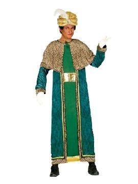 disfraz de rey mago baltasar hombre