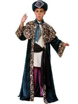 disfraz de rey mago baltasar infantil lujo