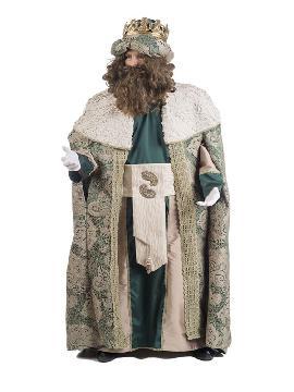 disfraz de rey mago gaspar deluxe hombre