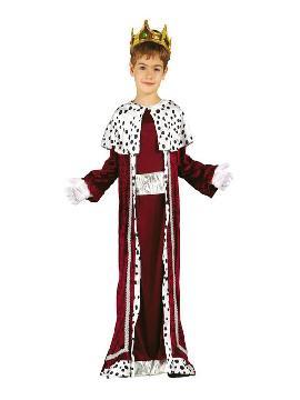 disfraz de rey mago gaspar niño