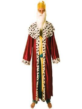 disfraz de rey mago melchor deluxe adulto
