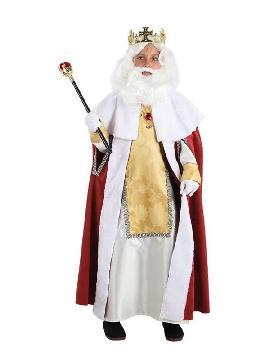 disfraz de rey mago melchor niño