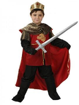 disfraz de rey ricardo niño