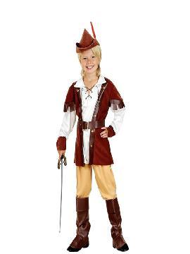 disfraz de robin hood marron niño infantil. Este comodísimo traje es perfecto para carnavales, espectáculos, cumpleaños. Este disfraz es ideal para tus fiestas temáticas de disfraces de famosos y cuentos para niños infantiles