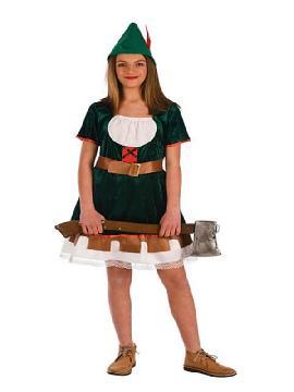 disfraz de robin hook para niña varias tallas.Este comodísimo traje es perfecto para carnavales, espectáculos, cumpleaños. Este disfraz es ideal para tus fiestas temáticas de disfraces de famosos y cuentos para niñas infantiles