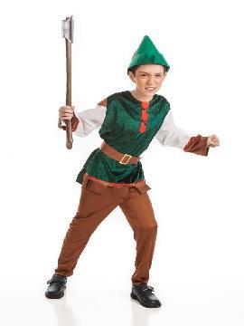 Disfraz de robin hood para niño. Este comodísimo traje es perfecto para carnavales, espectáculos, cumpleaños. Este disfraz es ideal para tus fiestas temáticas de disfraces de famosos y cuentos para niños infantiles