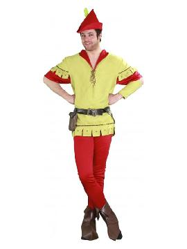 disfraz de robin hood verde hombre
