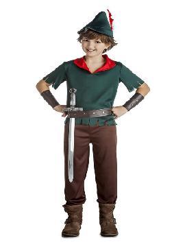 disfraz de robin hood verde niño