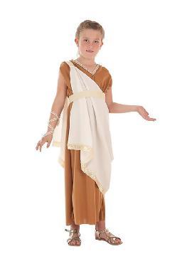disfraz de romana aurelia para niña