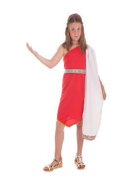 disfraz de romana con picos para niña
