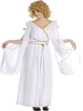 Disfraz de romana deluxe mujer. Disfruta representando a personajes de las película más míticas sobre la Antigua Roma en Fiestas Temáticas. Este disfraz es ideal para tus fiestas temáticas de disfraces romanos y egipcios adulto. fabricación nacional