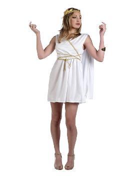 disfraz de romana deluxe para mujer. Conviértete en una salvaje luchadora, en una heroína de la guerra o interpreta a una villana de la época clásica con este seductor. Este disfraz es ideal en pareja para tus fiestas temáticas de disfraces de guerreros y arabes,romanos y egipcios para adultos.