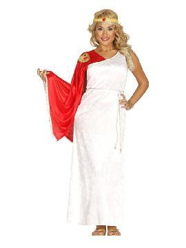 disfraz de romana lujo mujer. Disfruta representando a personajes de las película más míticas sobre la Antigua Roma en Fiestas Temáticas. Este disfraz es ideal para tus fiestas temáticas de disfraces romanos y egipcios adulto en pareja o familias.