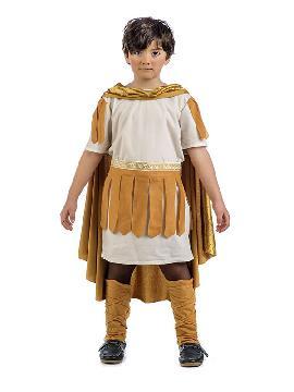 disfraz de romano calisto niño. Tu hijo será el valiente héroe de la mitología griega. Defiende a los humanos de los monstruos como la hidra para que disfruten de las fiestas de Carnaval y cabalgatas de reyes. Este disfraz es ideal para tus fiestas temáticas de disfraces romanos y egipcios para infantil.