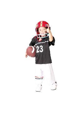 disfraz de rugby quarterback niño