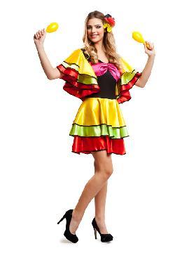 disfraz de rumbera para mujer