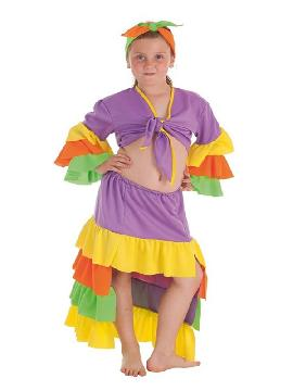 disfraz de rumbera varadero para niña