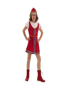 disfraz de rusa barata para niña