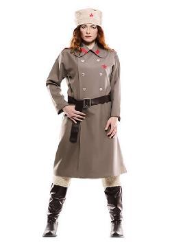 disfraz de rusa gris para mujer