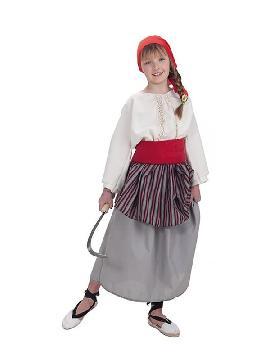 disfraz de segadora para niña