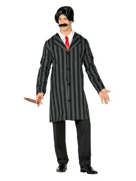 disfraz de señor addams hombre
