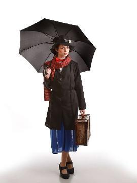 disfraz de senorita poppins mujer adulto