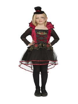 disfraz de señorita vampira para niña