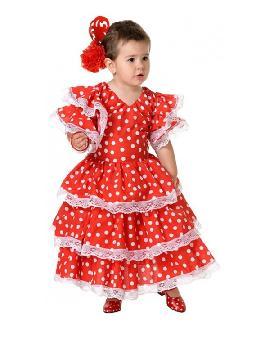 disfraz de sevillana para niña