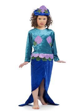 disfraz de sirena para niña. La más pequeña de la familia podrá sentirse como Ariel, la sirena más famosa de Disney. Será la princesa en Fiestas de Cumpleaños o Carnaval. Este disfraz es ideal para tus fiestas temáticas de disfraces de famosos y cuentos infantiles en familia