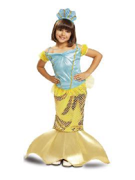 disfraz de sirenita para niña