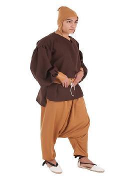 disfraz de sirviente medieval para hombre