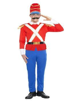 disfraz de soldadito de plomo hombre