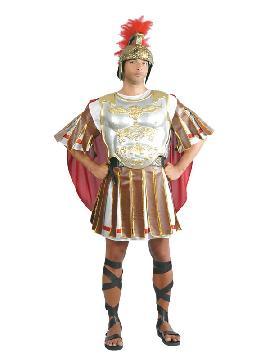 disfraz de soldado romano para hombre. Te sentirás como un auténtico soldado del ejército de la roma clásica. Es ideal para Carnaval, fiestas históricas, eventos temáticos y representaciones teatrales y seras un autentico adulto.