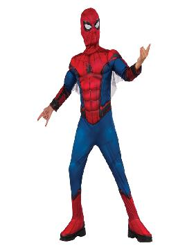 disfraz de spiderman homecoming musculoso niño