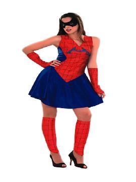 disfraz de spiderman mujer barato