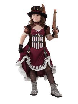 disfraz de steampunk para niña