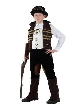 disfraz de steampunk para niño