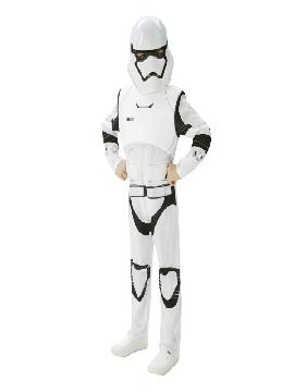disfraz de stormtrooper star wars episodio 7 deluxe niño