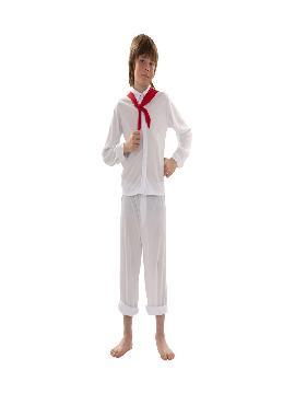 disfraz de sudamericano barato niño infantil. Es el traje perfecto para acudir a Fiestas Temáticas. Este disfraz es ideal para tus fiestas temáticas de disfraces de paieses y regional infantil.