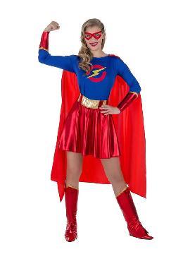 disfraz de super heroina para mujer