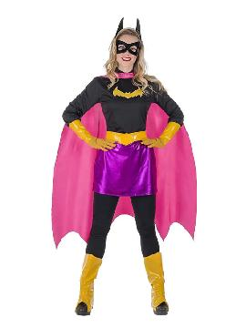 disfraz de super murcielaga para mujer