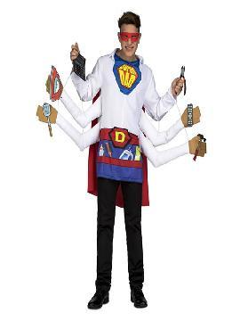 disfraz de super padre para hombre