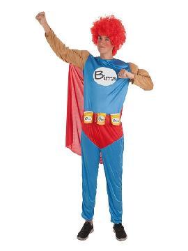 disfraz de superbirra para hombre