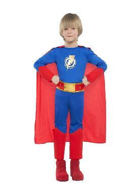 disfraz de superheroe para niño