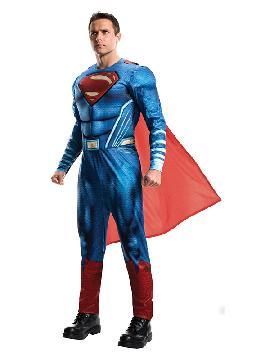 disfraz de superman la liga de la justicia adulto