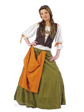 disfraz de tabernera medieval agnes mujer
