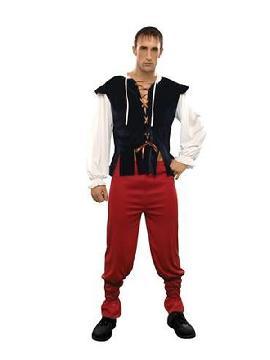 disfraz de tabernero medieval hombre
