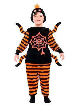 disfraz de tarantula para niño