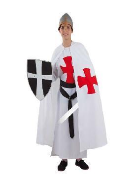 disfraz de templario medieval niño