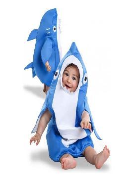 disfraz de tiburon para bebe